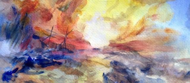 Light Study, after Turner